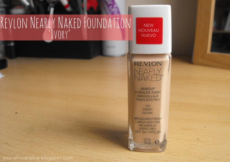 Revlon Nearly Naked Foundation in Ivory