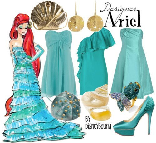 Little Mermaid Hair Accessories