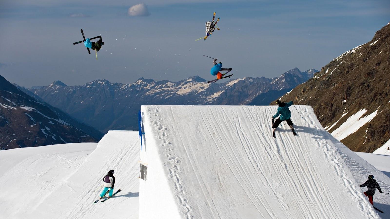 freestyle skiing wallpaper - photo #12