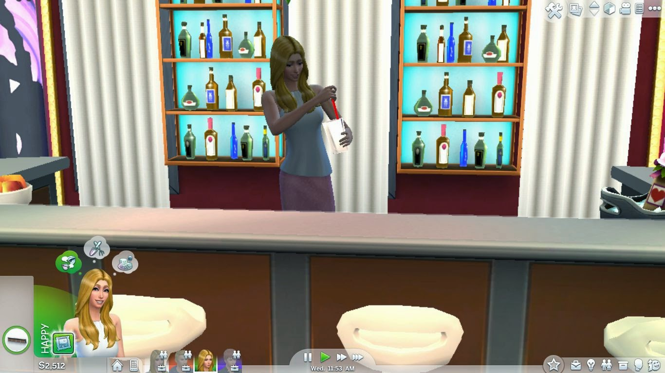 sims 4 gameplay,sims 4 mixology