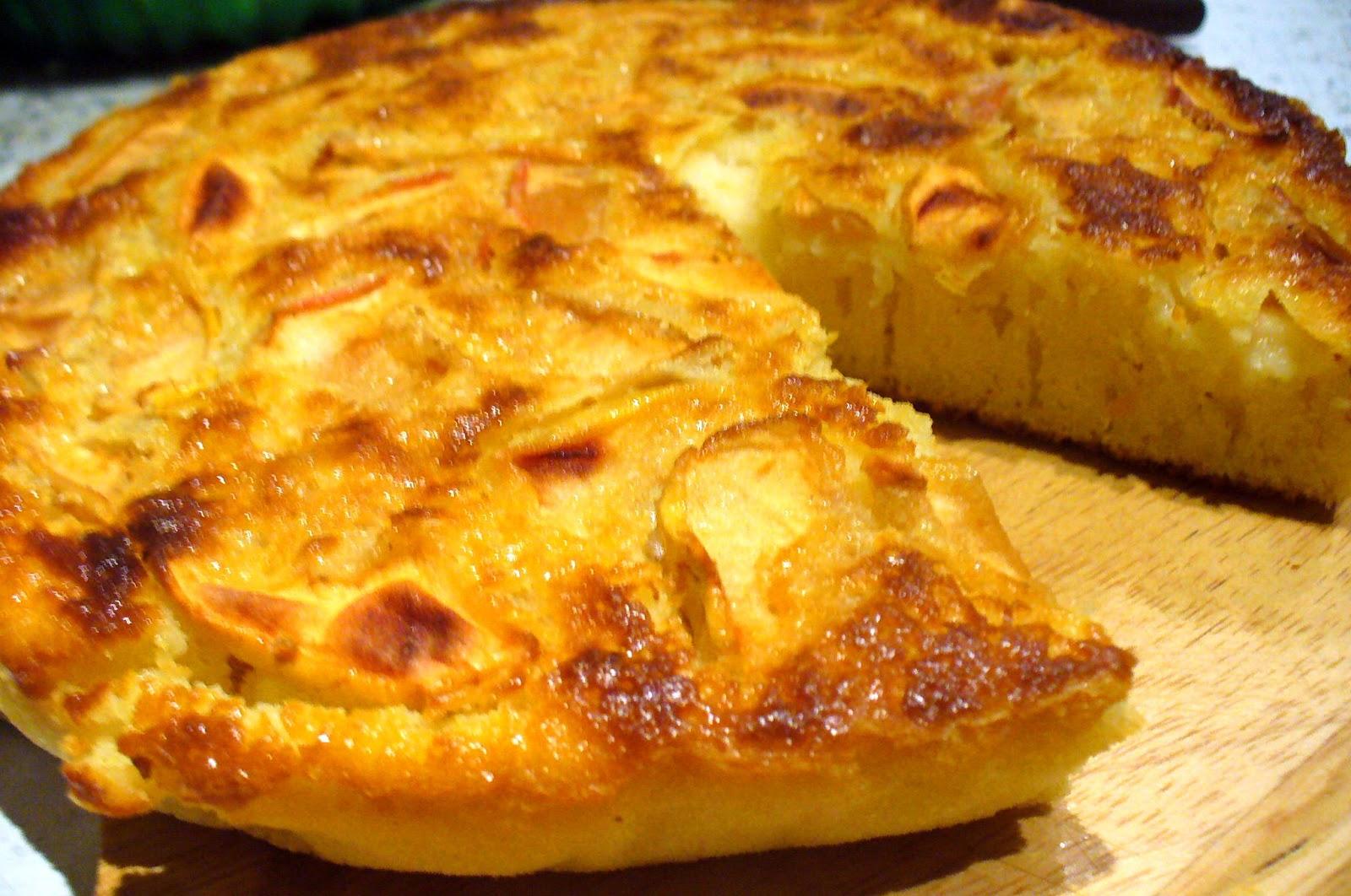 как испечь яблочный пирог на кефире