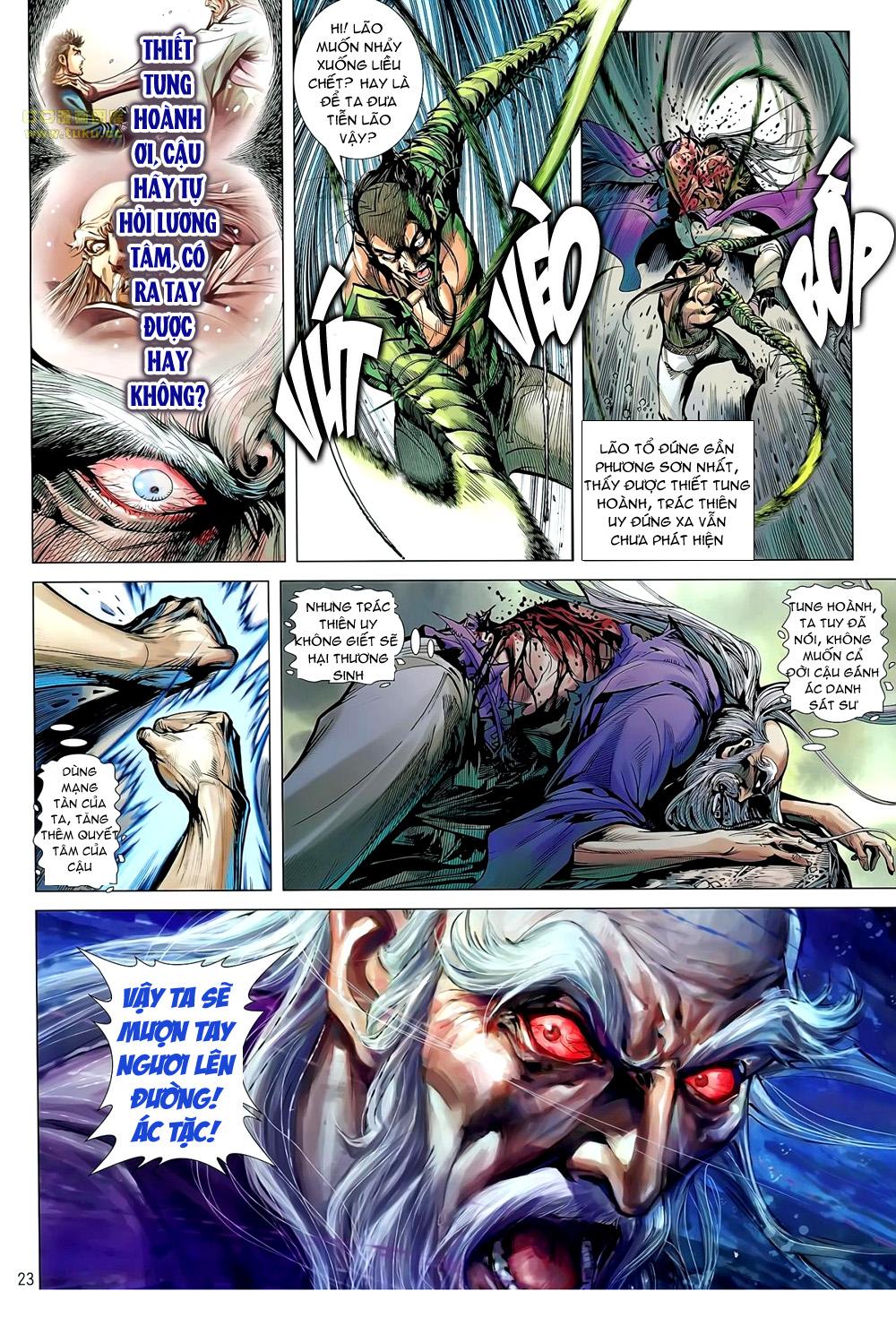 truyện tranh thiết tướng tung hoành Chapter 55/