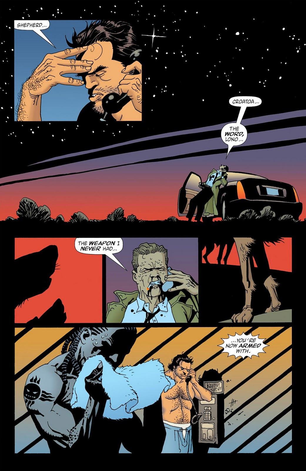 100 Bullets Issue 58 | Read 100 Bullets Issue 58 comic online in high  quality. Read Full Comic online for free - Read comics online in high  quality .