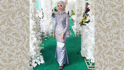 Kebaya muslim model mermaid