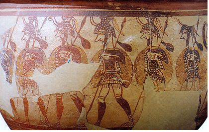 Оружие Троянской войны. Копья (часть пятая)