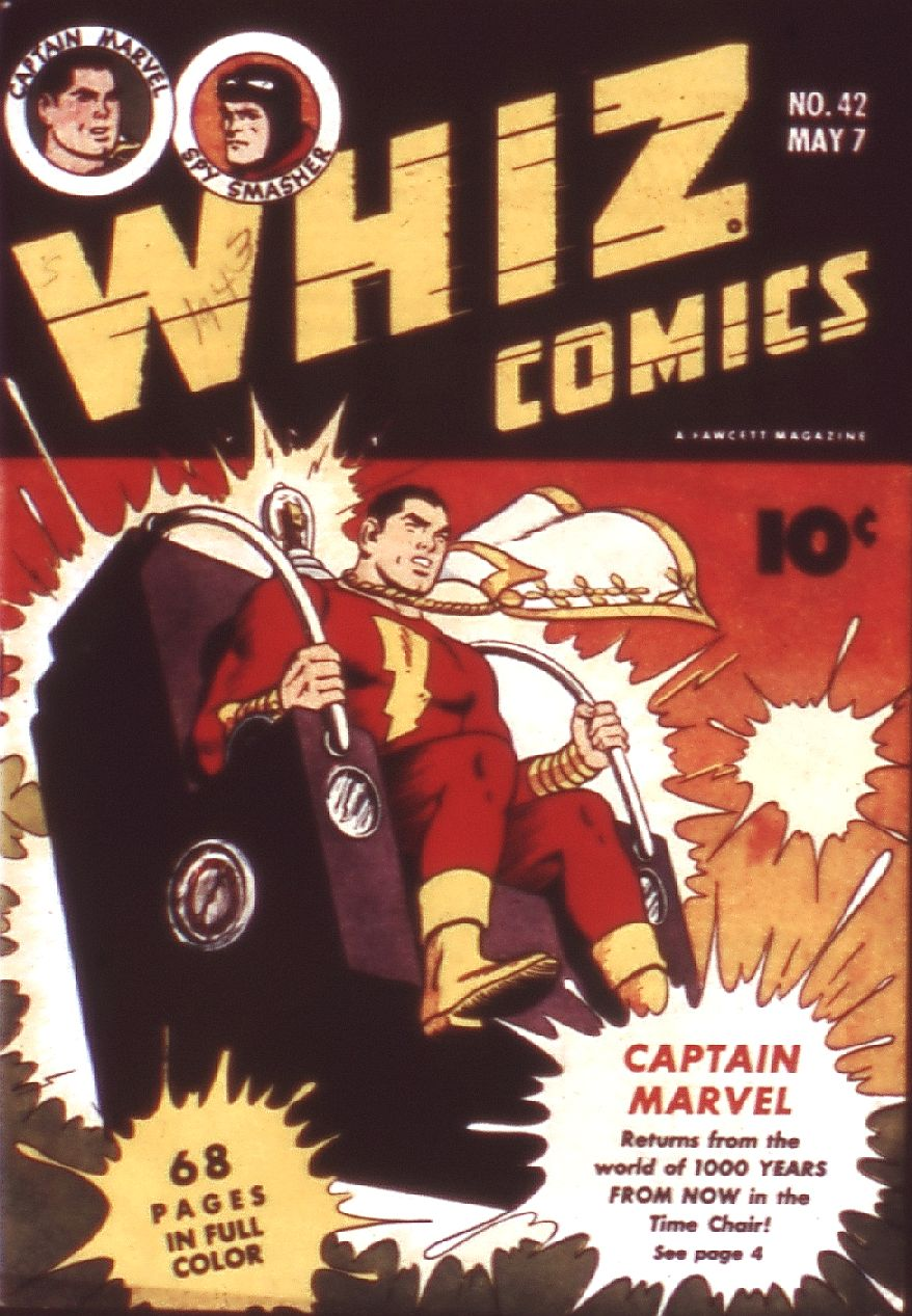 WHIZ Comics issue 42 - Page 1