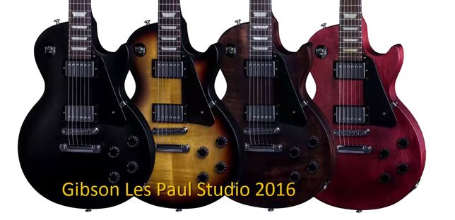 Gibson Les Paul Studio 2016