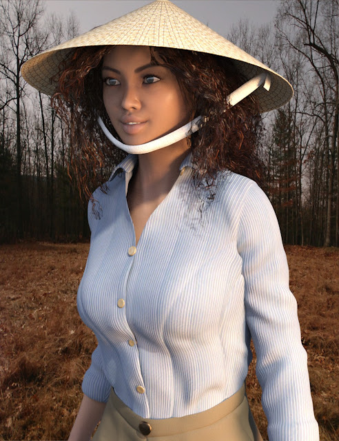 Hat And Hair Helper for Genesis 3