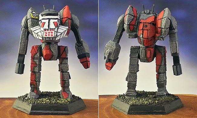 Show Off:  Battlemech :: Dragon :: Grey Death Legion, Pennant Lance