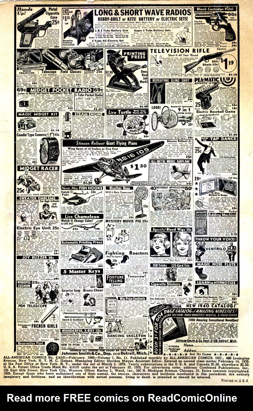 Read online All-American Comics (1939) comic -  Issue #11 - 2