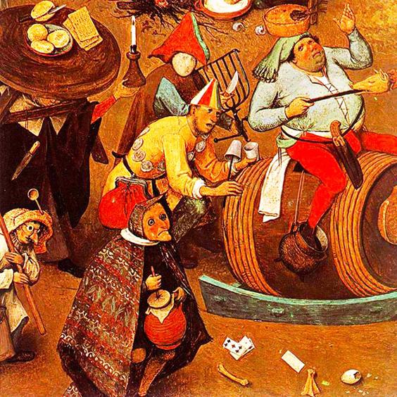 Risultati immagini per carnevale medievale