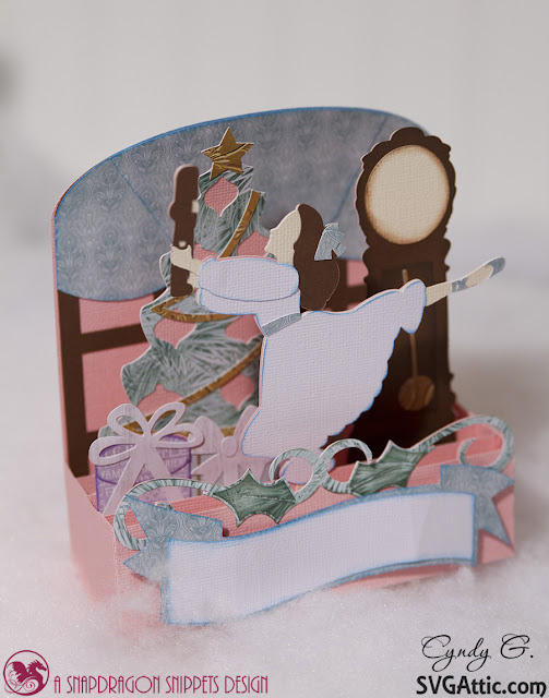 Nutcracker Box Card