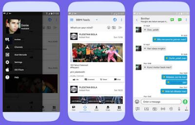 BBM Mod Like iOS V3.3.0.16 Apk