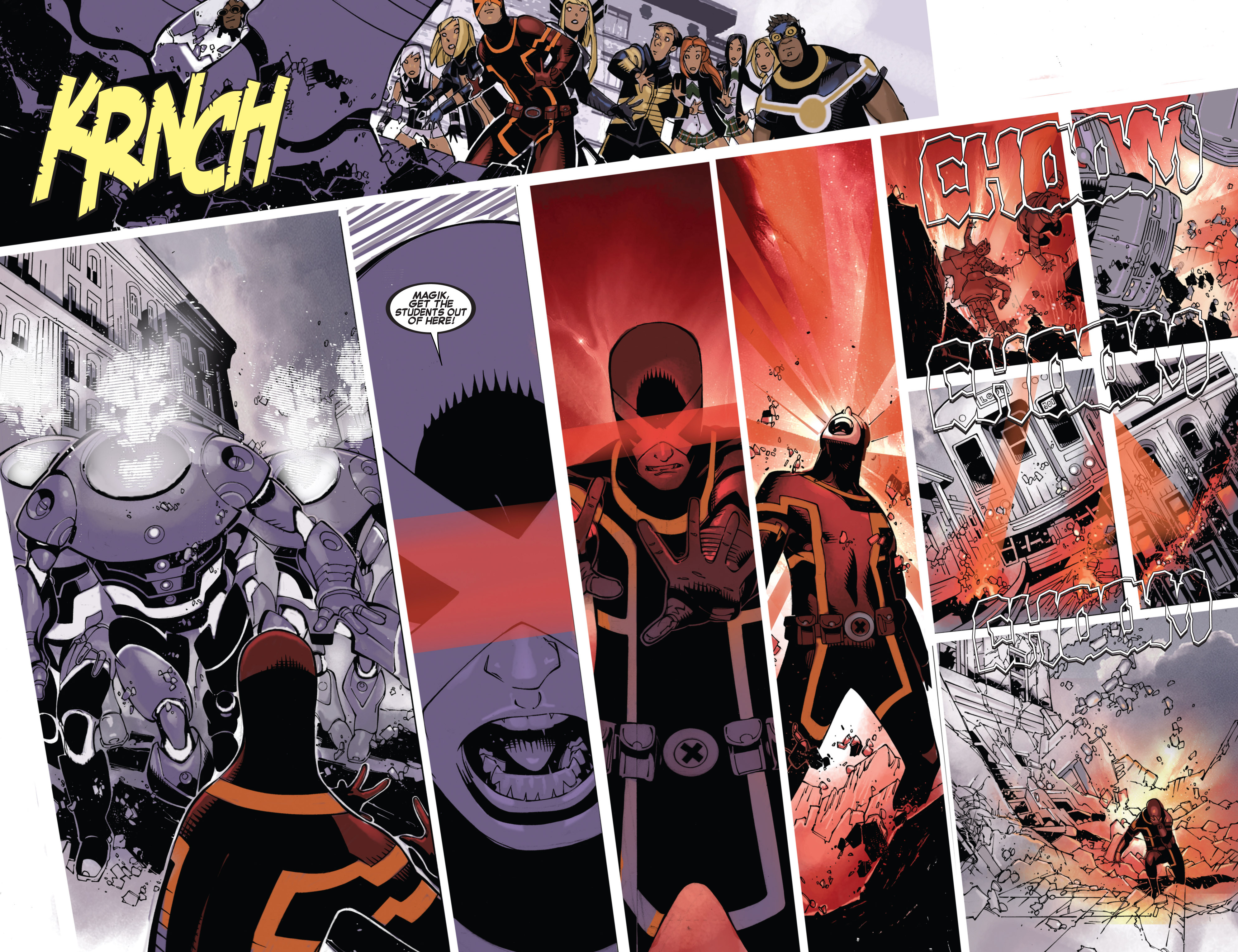 Read online Uncanny X-Men (2013) comic -  Issue # _TPB 4 - vs. S.H.I.E.L.D - 14