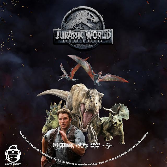 Jurassic World: Fallen Kingdom DVD