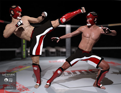 MMA Fighter for Genesis 3 Male