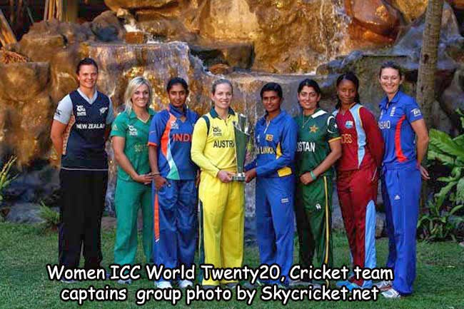 Photo of team captain in ICC World T20