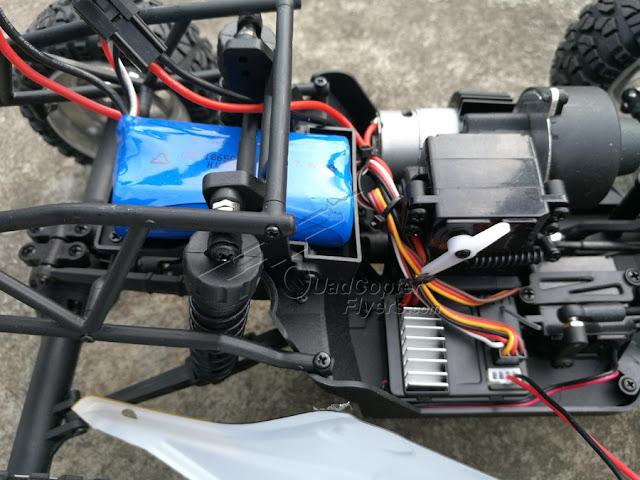 HBX 12889 Thruster Truck battery