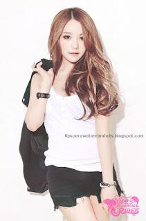model rambut wanita korea seksi