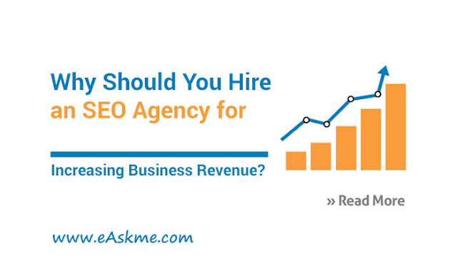 Why Should You Hire an SEO Agency for Increasing Business Revenue?: eAskme