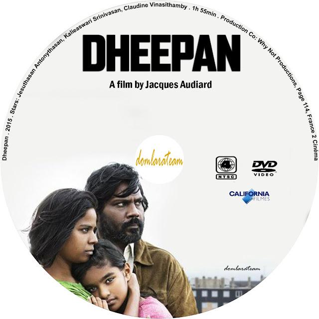 Label DVD Dheepan O Refúgio