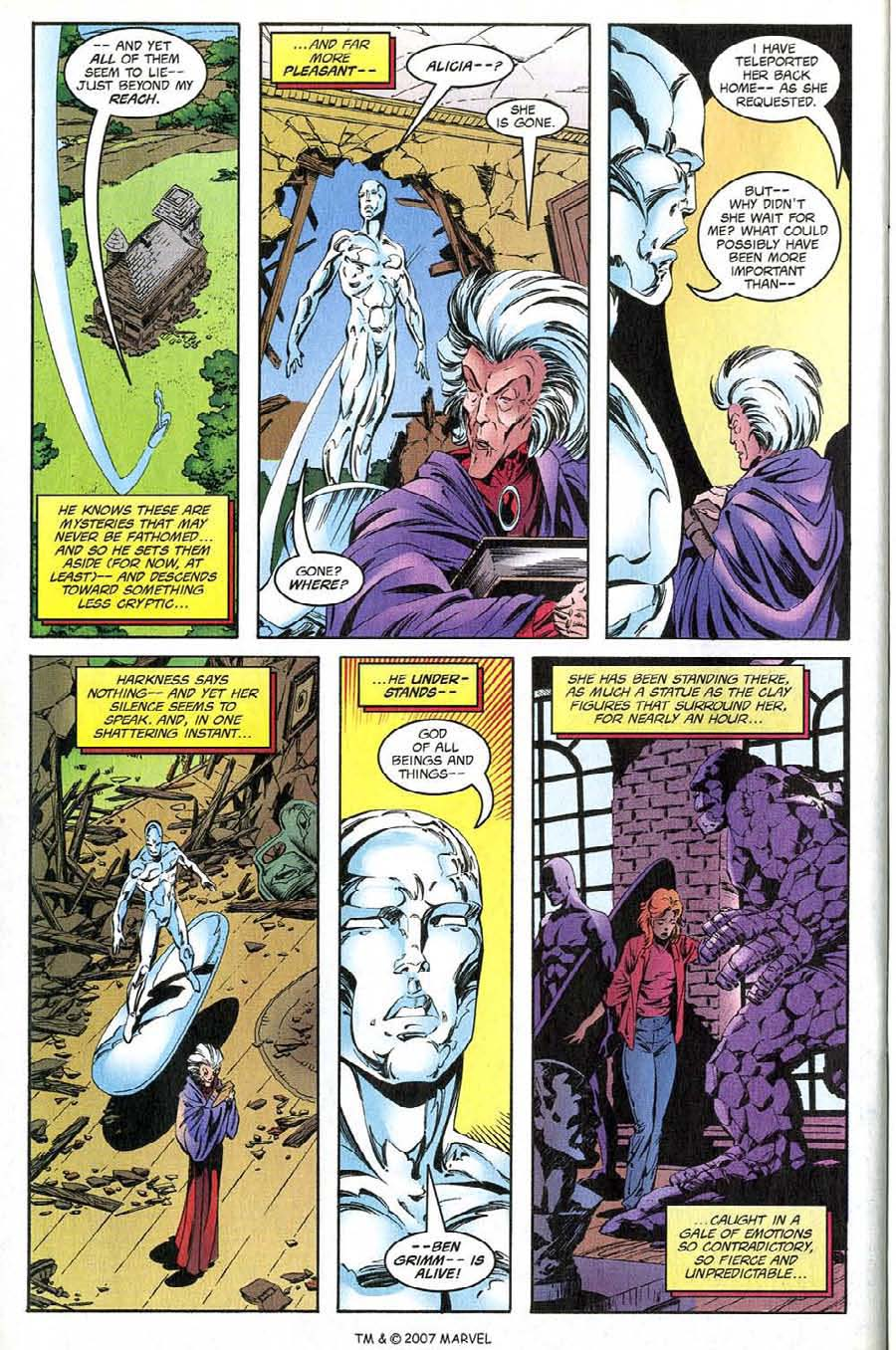 Read online Silver Surfer (1987) comic -  Issue #137 - 34