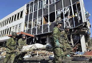 Structural collapse due to Magnitude 8.9 Japan earthquake March 11, 2011