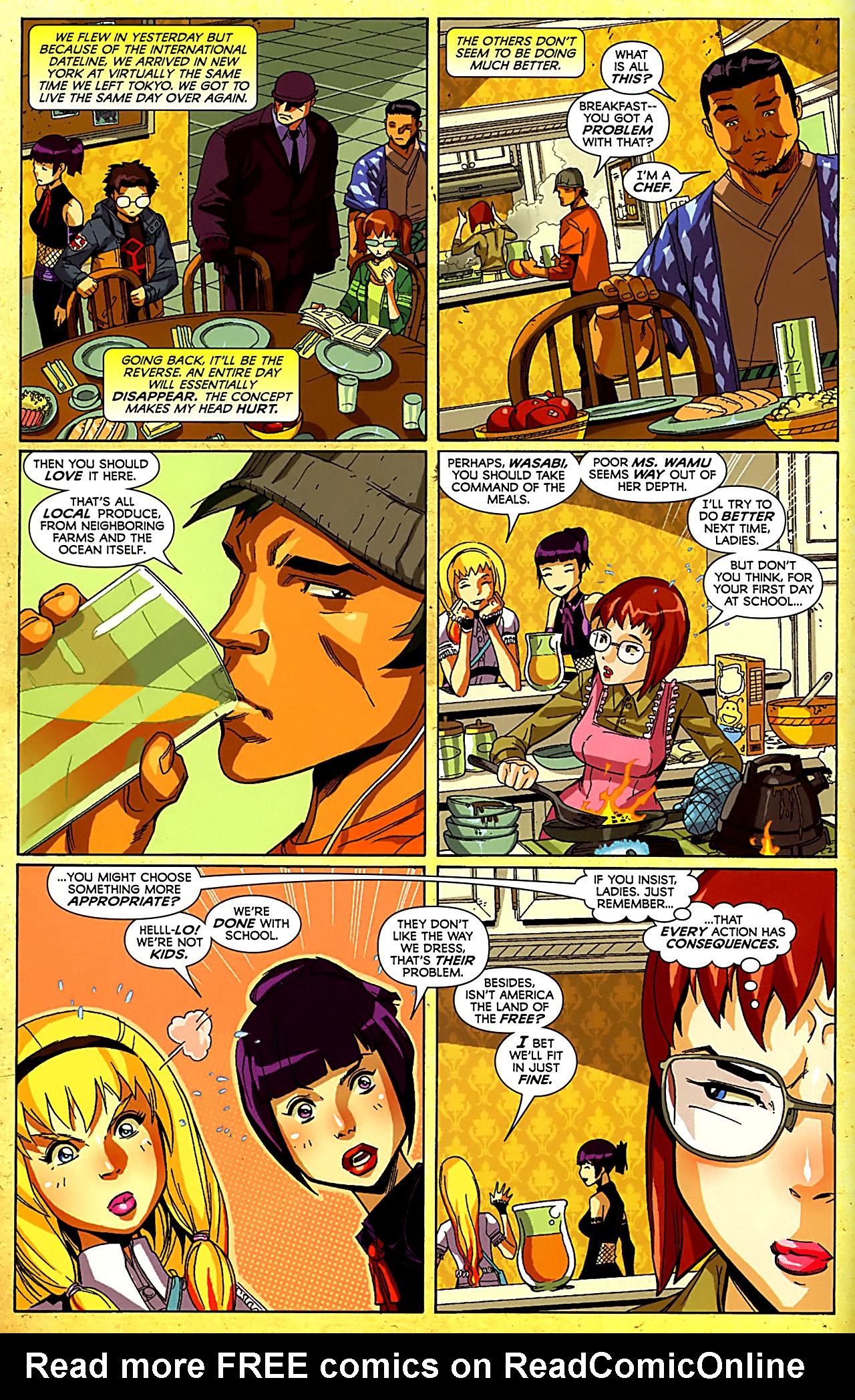 Big Hero Comic read online big hero 6 (2008) comic - issue #2