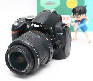 Jual Kamera Dslr bekas nikon D3000