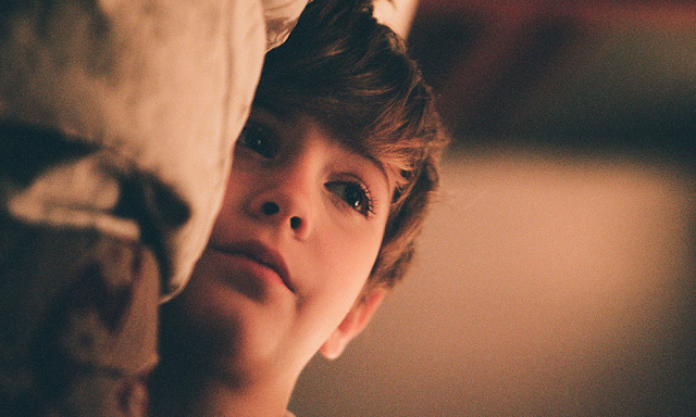 Jacob Tremblay in Xavier Dolan's The Death and Life of John F. Donovan