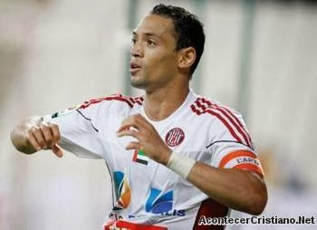 Futbolista brasileño Ricardo Oliveira,