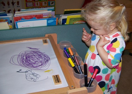Guidecraft Desk To Easel Art Cart Review And Giveaway