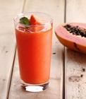 Jus buah pepaya campur wortel