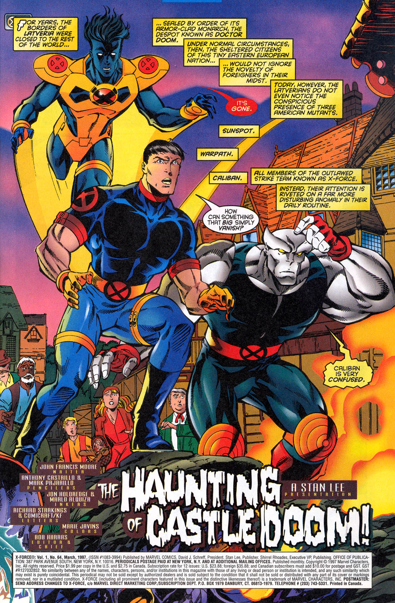 Read online X-Force (1991) comic -  Issue #64 - 3