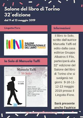 manuela taffi io solo maggio 2019 Eventi-Presentazioni Aprile 2019 Io Solo Manuela Taffi, libro sul bullismo e temi sociali