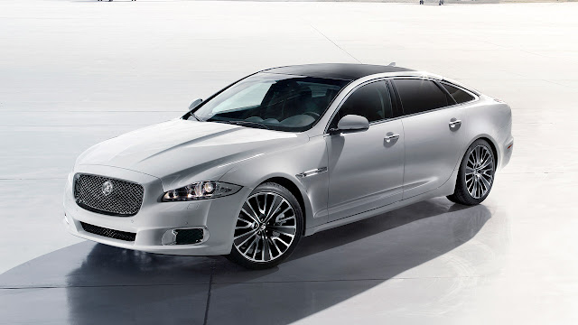 Jaguar XJ Ultimate front