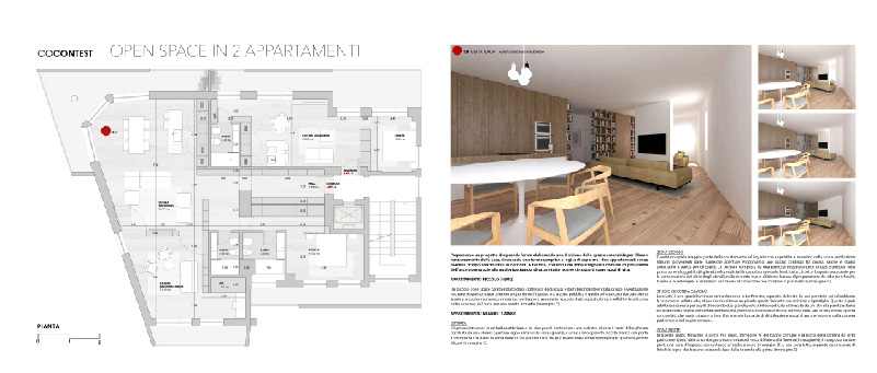 Soluzione progettuale proposta da ManGaArchitects