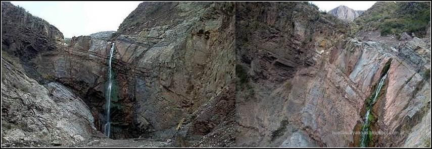 Cascada SAN ISIDRO - Las Heras - MENDOZA (2012)