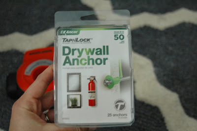 DIY anchors for installing wall shelves