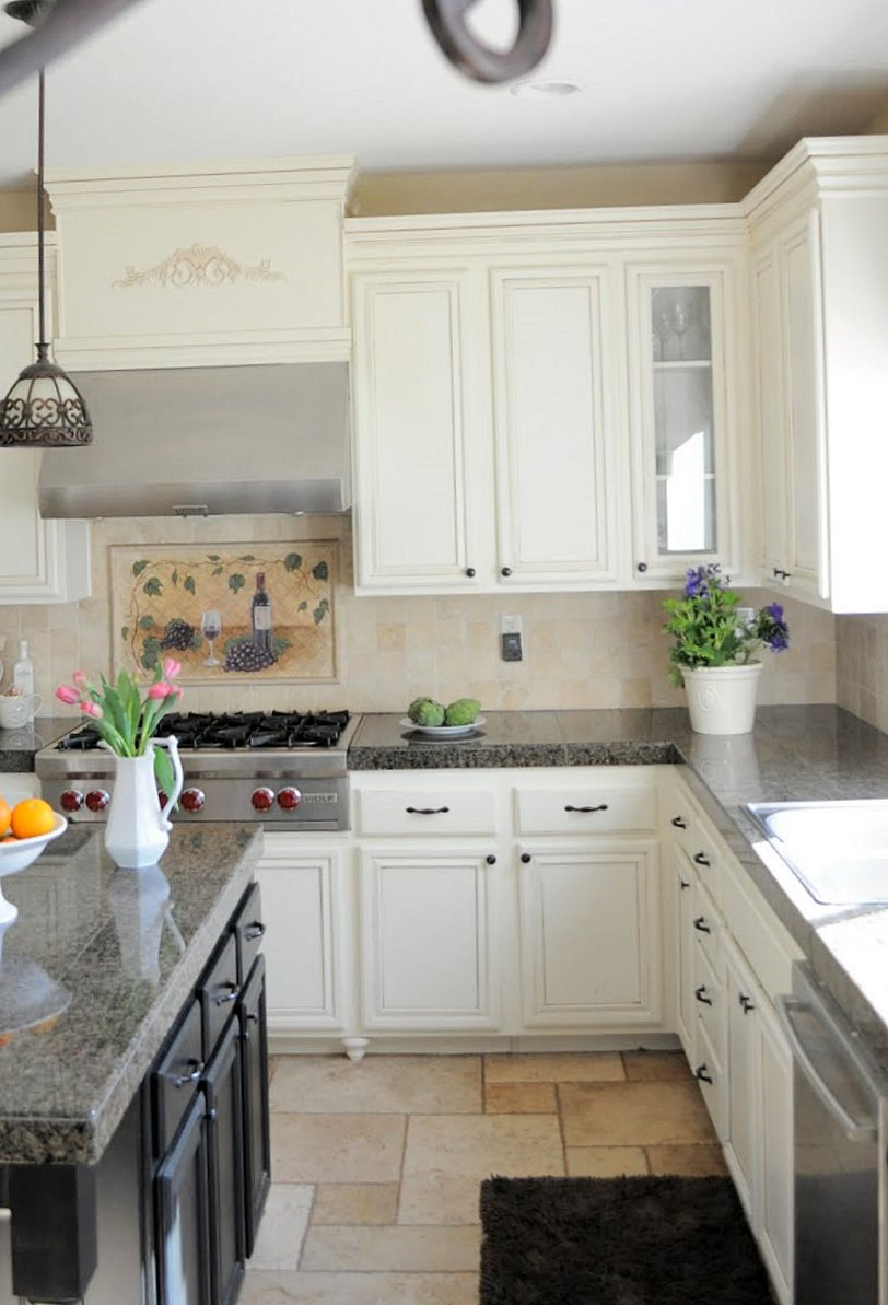 from builder grade to custom grade kitchen cabinet height Making your cabinets look custom