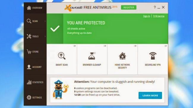 mejores antivirus 2015 para windows 7