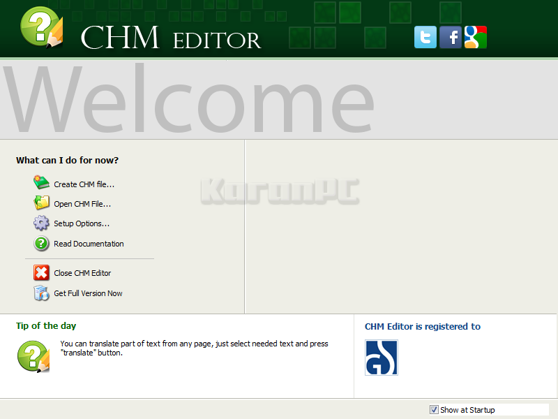 Download GridinSoft CHM Editor