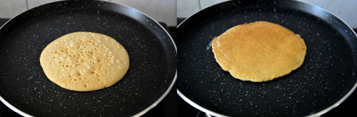 easy pancake recipe-eggless