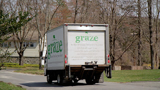 Graze delivery truck
