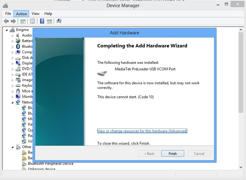 Install unsigned drivers windows 2012