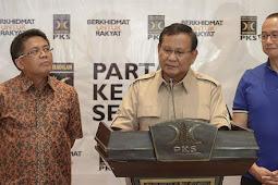 Prabowo Senang Didukung Tommy Jadi Presiden