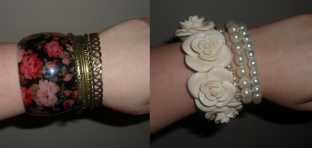 Photo of mix and match bracelets, arm candy, my favourite bracelets