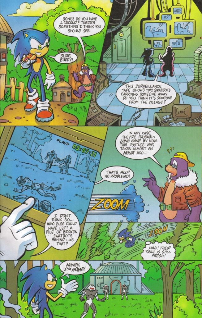 Read online Sonic The Hedgehog comic -  Issue #160 - 29