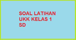 Download Soal Latihan UKK B. Indonesia Kelas 1 SD Terbaru sesuai ktsp 2016
