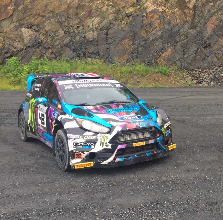 Ken Block's Gymkhana And Rally-Spec Ford Fiesta For Sale